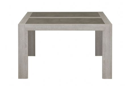 Sandro Square Dining Table, Ceruse Oak